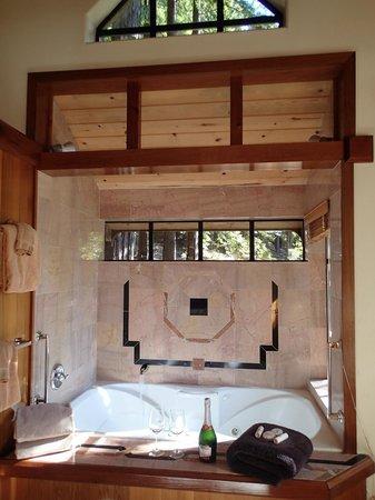 St. Orres: tub