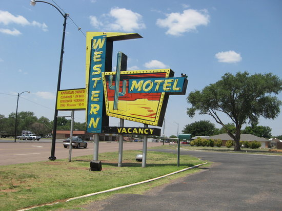 Western Motel : A Great Neon Sign