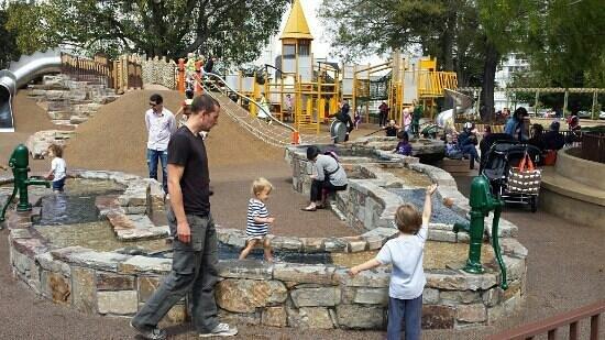 Lafayette Park: great new playground