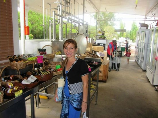 Kenilworth Cheese Factory: Local Produce & Samples Area