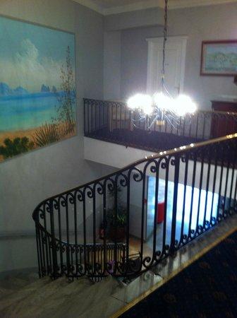 Ambassador Hotel: stairs