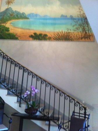 Ambassador Hotel: stairway