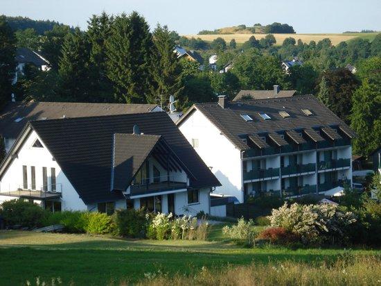 Hotel Hesborner Kuckuck: Hotel (ligt ingebouwd tussen huizen)