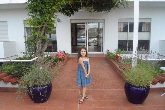 Hotel Moresco: ingresso sulla terrazza