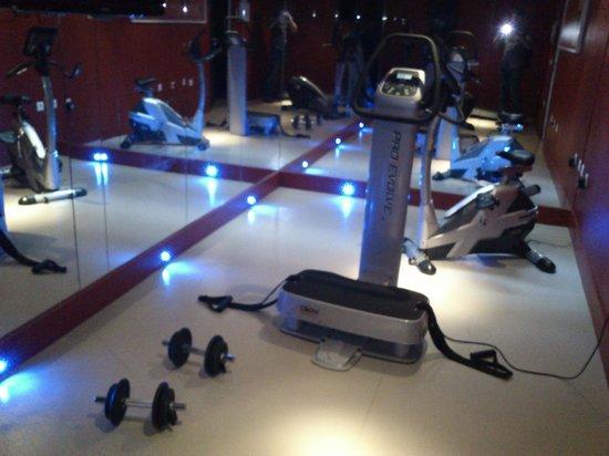 Hipark Grenoble: gym