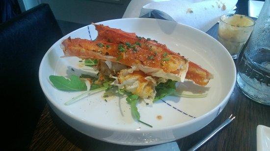Quatre Mains : King crab was delicious