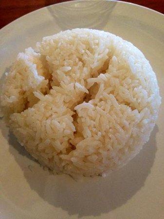 Mai Thai: coconut rice