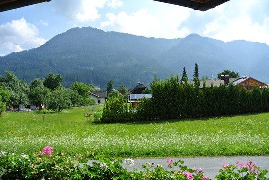 Ferienhaus Franz: Uitzicht vanaf ons balkon