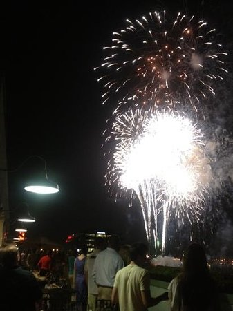 Inn at The Black Olive: Baltimore's best place to watch the fireworks