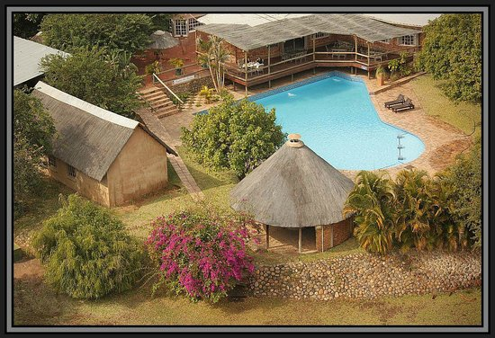Hippo Pools Resort: From the sky!