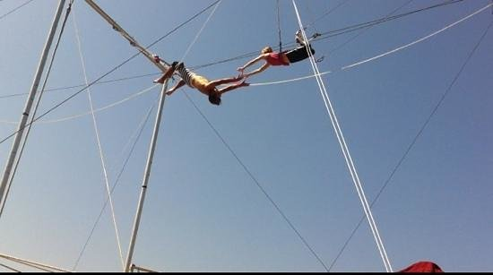 Photo of Tourist Attraction Trapeze School New York, Los Angeles at 370 Santa Monica Pier, Santa Monica, CA 90401, United States
