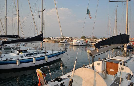 Porto di Boccadarno: I pontili