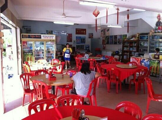 Restoran Top Seafood: Main dinning area