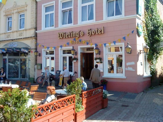 Wieting's Hotel: Hotelfront