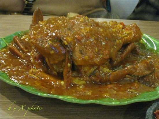 Pangkep 33 : Kepiting Saus Padang