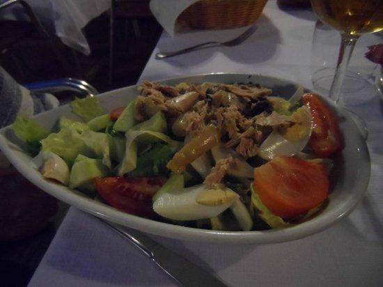 La Higuera de Jose : ensalada variada,,muy buena