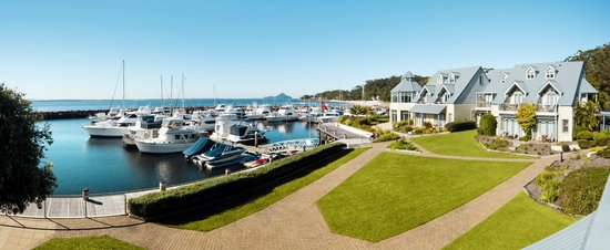 Anchorage Port Stephens: Marina views from each room and suite