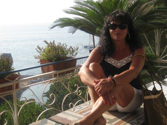 Vico Equense, Ιταλία: sul terrazzo dell'hotel
