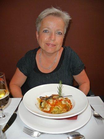 Grøntsagslasagne - Lasagne de legumes