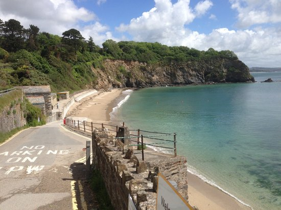 Сент-Остелл, UK: Porthpean Beach