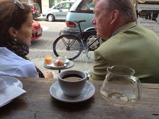 The Barn Cafe Deli: great coffee!!!