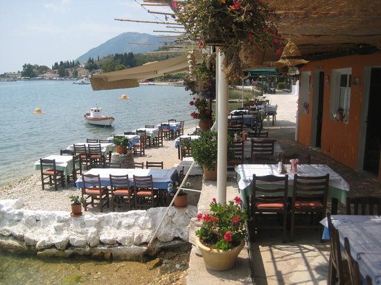 Lygia, Grecia: Tavern Seven Islands