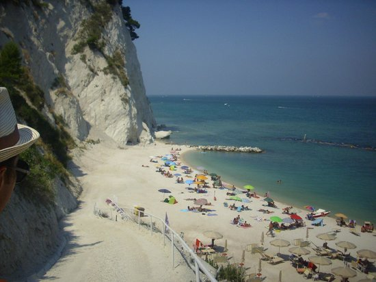 Hotel Bellavista: spiaggia dei frati