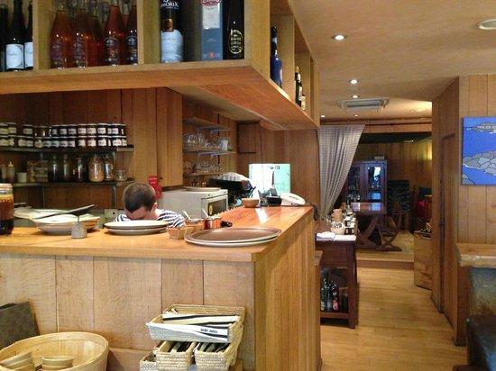 Breizh Cafe : Tresen