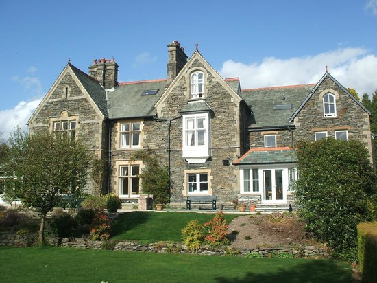 The Windermere Centre, seen from the gardens
