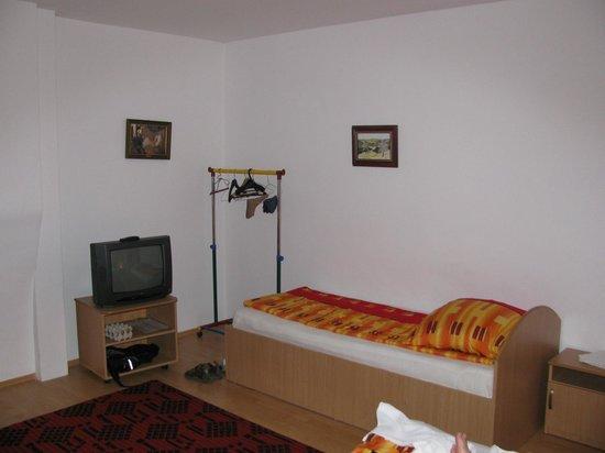 Pensiunea Sighisoara: triple room (partial view)