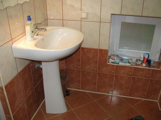 Pensiunea Sighisoara: bathroom
