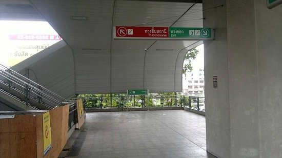 Take exit 3 down from Ratchaprarop Airport Rail Link station - Picture of  Bangkok Dolls - Tripadvisor