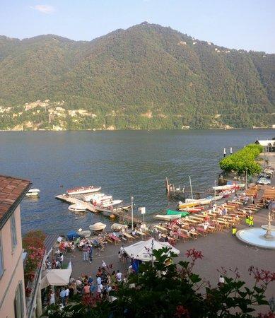 Hotel Miralago : vista lago dalla camera