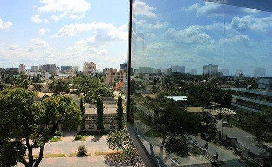 Hotel Raha Tower: Room view