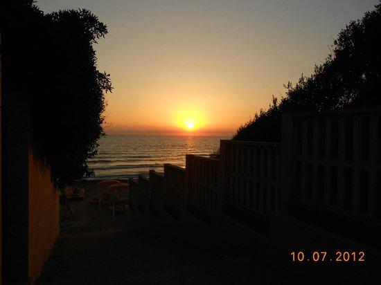 Villa Denia: sunset