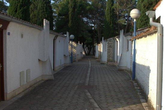 Resort Villas Rubin: Sådan ligger de fleste huse i området.