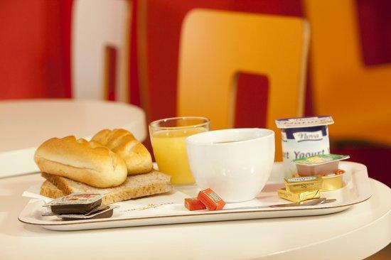 Premiere Classe Geneve - Saint Genis Pouilly: Salle petit-déjeuner