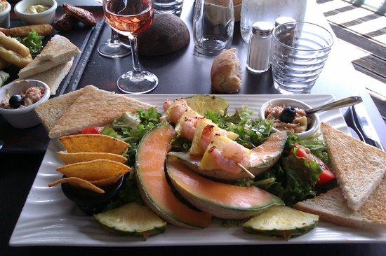 Rouge Tendance : salade Ibiza