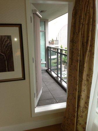 L'Hermitage Hotel: balcony signature suite