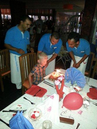 Skanes Family Resort: birthday