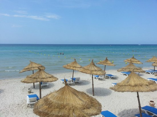 Skanes Family Resort: Beach