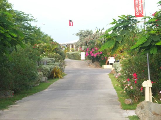 Dutchman's Bay Cottages : Ingresso del residence