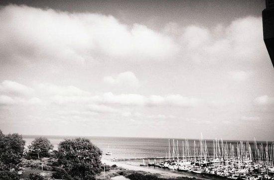 WestCord Hotel Schylge: Wijds uitzicht vanaf de kamer