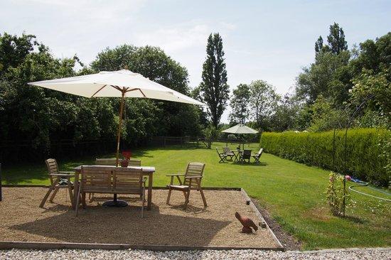 The Old School Bed and Breakfast: Part of garden