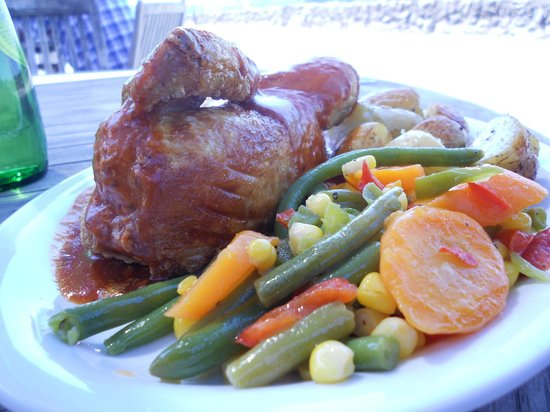 The Anchor Hotel Restaurant: Roast Chicken at Anchor Hotel