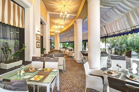Hotel Oreanda: Terrazza Cafe, summer terrace