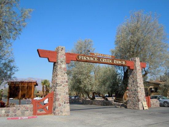 Furnace Creek Inn and Ranch Resort: Welcome