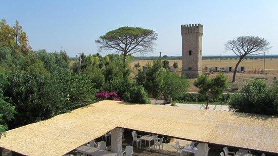 Agriturismo Casa Porcara: la torre