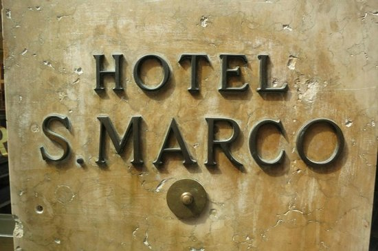 Albergo San Marco: Easy to find