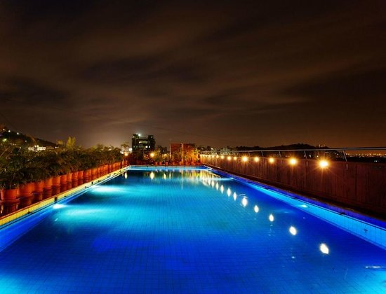 The E-SQUARE Hotel: Half Olympic Size Pool